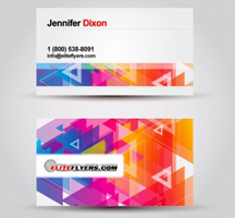 Tips for creating business cards for artists