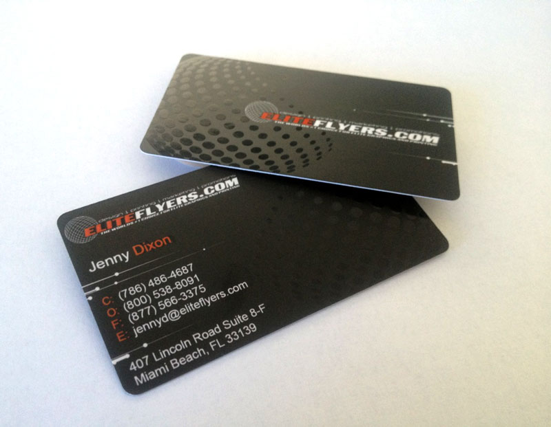 Silk Laminated Business Cards With Spot UV Lamination - Elite Flyers