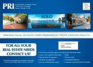 A direct mailer for a realty company, high quality flyers, eliteflyers.com