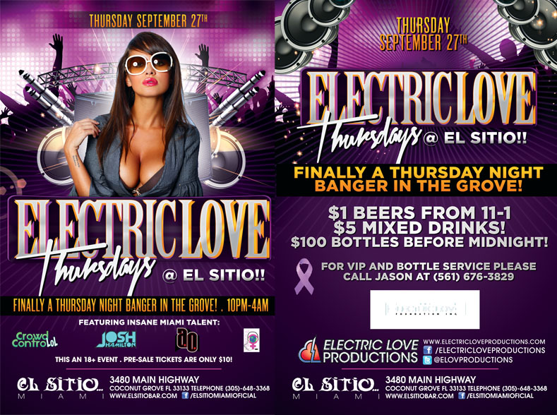 Night Club Flyer Printing with EliteFlyers.com - Elite Flyers