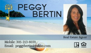 Real Estate Business Cards Headshot