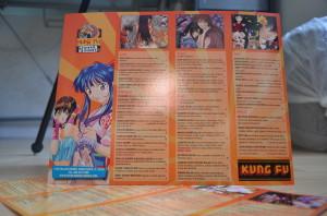 A custom menu