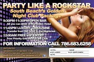 a party flyer