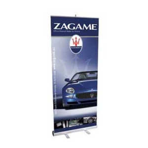 A Roll Up Retractable Banner