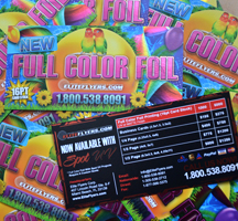 Full Color Foil Printing
