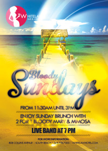 Sample of a Easter Sunday Flyer Design