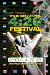 A festival flyer