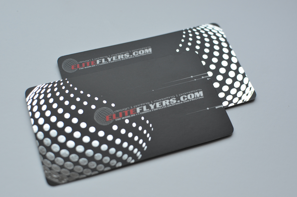 Different Options with Foil Printing - Elite Flyers