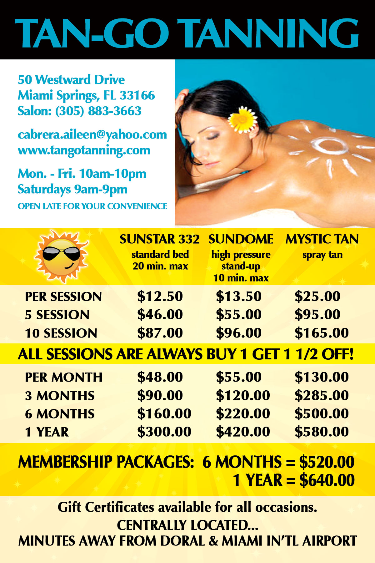 example of a flyer for an advertisement