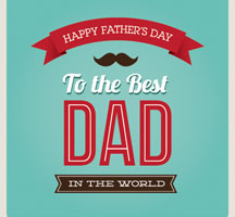 High quality flyers for fathers day