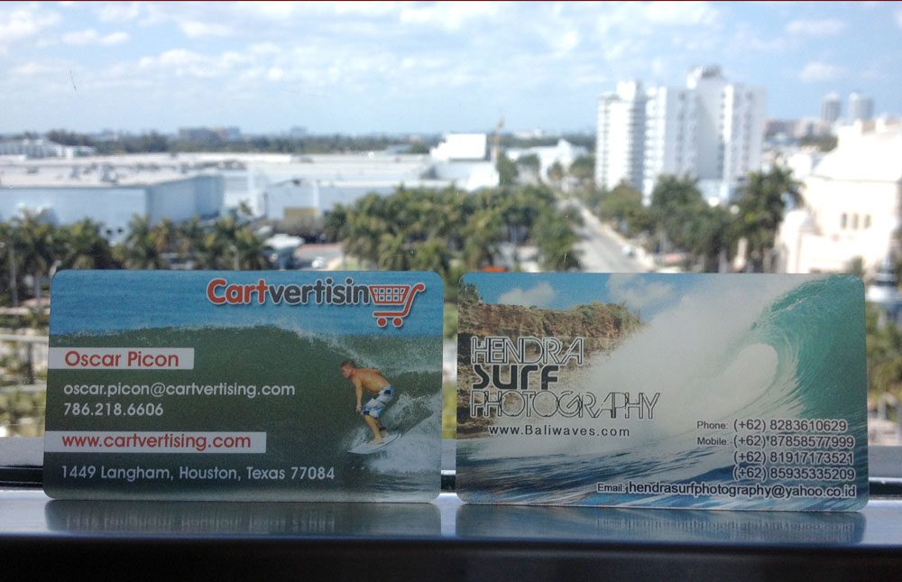 Plastic business cards for extreme sports photographers elite flyers an example of plastic business cards reheart Images