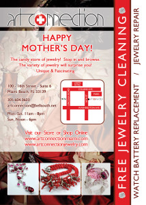 A flyer for Mothers Day
