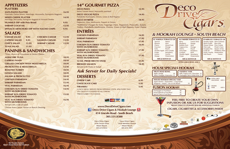 wow your diners with custom menus for your restaurant