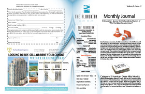 High quality newsletter design, 100lb magazine stock newsletter, EliteFlyers.com