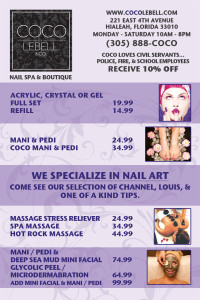 Spa flyers, online flyer maker, EliteFlyers.com