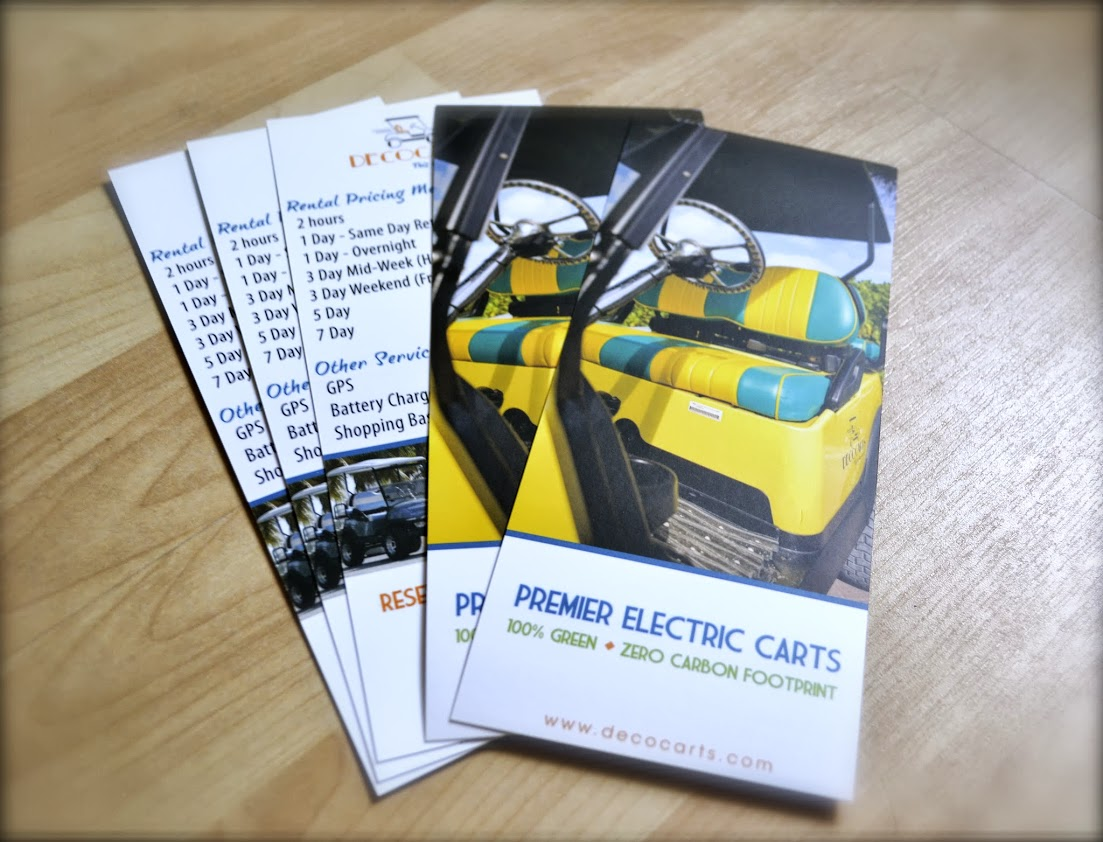 Small business rack cards - Elite Flyers