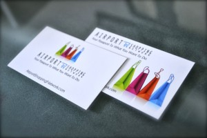 an example of linen business cards