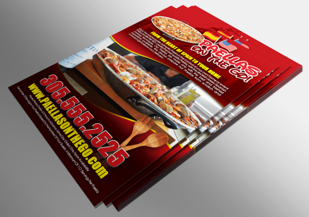 Custom Printed Menus for Restaurants, Food Trucks, and more!