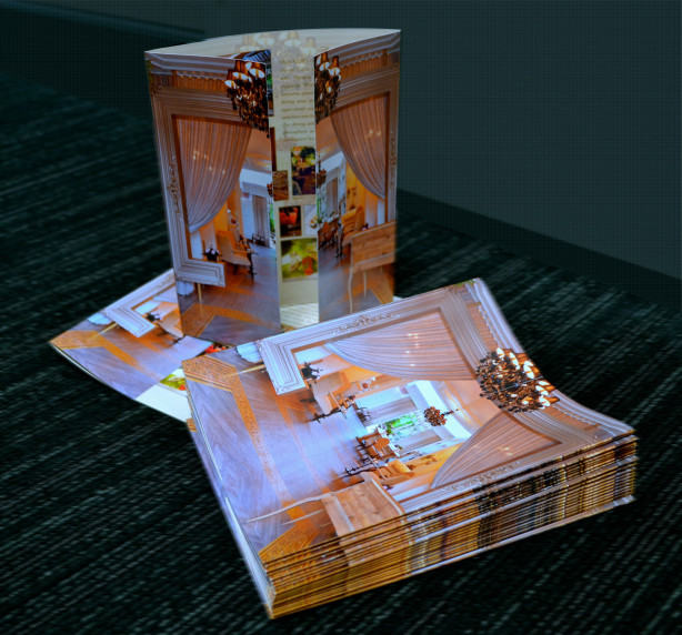 Gate Fold Restaurant Menu Printing