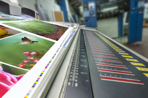 Gang run printing, flyer printing