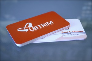 16pt Card Stock Business Cards Matte Finish With Spot UV