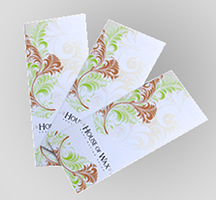 Brochures printed in full color with choice of tri-fold or quad-fold