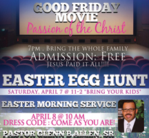 Flyer Designs For Easter