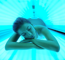Flyers for tanning salons