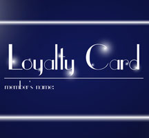Loyalty cards, business cards as coupons