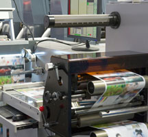 How are flyers printed?