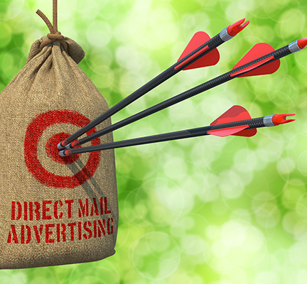 Three Arrows Strike Target Every Door Direct Mailing Printing Postcards Elite Flyers Printing